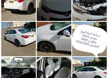 Toyota Corolla car for sale 2016 in Al Khaboura city