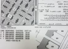 للبيع أرض سكنية الموقع (حي الرفعة مربع 20)ولاية صحار