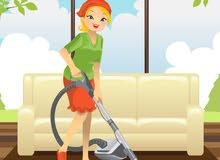 متوفر عاملات نظافة