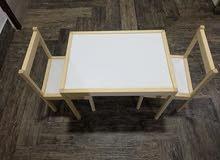 طاولة اطفال خشبية