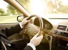 سائقين رخصه مهنيه او درجه تانيه او تالته