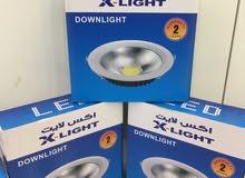 جميع أنواع الإضاءة والمعلقات والكيبلات الكهربائية