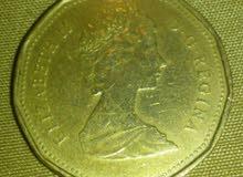 1 $ Canada 1989