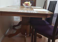 طاوله كبيرة خشب ماليزي