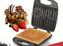 Waffle جهاز عمل الوافل الكهربائي حجم كيير