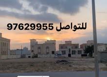 أربعة أراضي صك السعادة الشمالية مربع ح 2400 متر اول صفة شارع50شمال مسجد محيدين