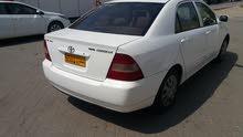 Gasoline Fuel/Power   Toyota Corolla 2002