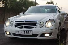 White Mercedes Benz E 200 2007 for sale