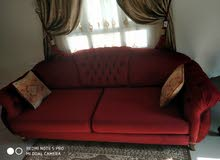 3 seater sofa with side table