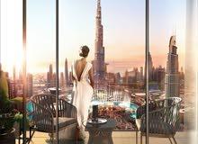 طابق كامل مطل على برج خليفة