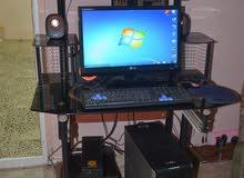 كمبيوتر سستم كامل نوع Dell مع طابعه