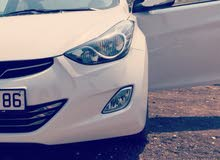 Renting Hyundai cars, Avante 2015 for rent in Irbid city