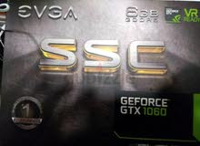 GRAPHICS EVGA GTX1060 6GB