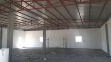 مصنع (حلويات ومعجنات )جاهر بدون معدات في الغليلة مساحة 2400 متر منهن ان