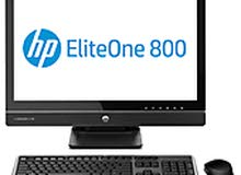 "HP EliteOne 800 G1 - all-in-one - Core i5 4570S 2.9 GHz 23"" Touch Smart screen"