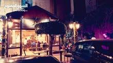 مطعم وكوفي شوب رخصة سياحي مع رخصة تقديم اراجيل للبيع
