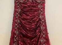 تخفيض كبير  :فستان مناسبات أنيق لبسة مرة واحدة -Great Discount occasion dress , elegant worn once