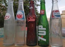 زجاجات مشروبات غازيه قديمة