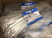 Stainless Steel Cable Ties (7.9mm x 259mm) 49 Packs - Made in UK