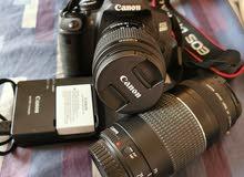 EOS Canon 650D + 2 Lenses for sale!
