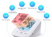 Blood Pressure Monitor Automatic Machine Digital 3-color LCD Display