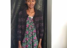 خادمه اثيوبيه فالمكتب فيزا زياره ب3500