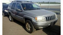 Beige Jeep Cherokee 2000 for sale