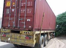 حاويات 40 قدم شبه جديد للبيع و مصرح لها للشحن عدد 2 حاويات