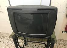 تلفزيون نوع داوو عادي مستعمل مع طاولة