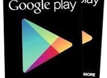 بطاقات قوقل سوق جوجل بلاي Google play store gift card + توصيل