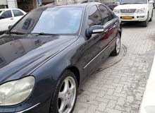 Used condition Mercedes Benz S 500 2002 with 10,000 - 19,999 km mileage