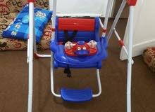 مرجوحة اطفال بحالة الوكالة استعمال 15 يوم