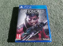 PS4 - PLAYSTATION 4 - DISHONORED - DEATH OF THE OUTSIDER