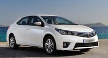 Best rental price for Toyota Corolla 2015