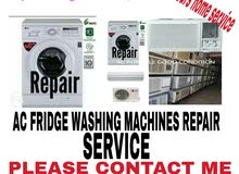 AC FRIDGE WASHING MACHINES REPAIR PLEASE CONTACT 55570661