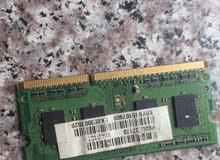 رام لابتوب DDR3 مستعمل 4G