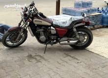 دراجه هارلي كاوسكي بيهة كابريتر مطوف ومتروكه للمراوس بايراني او بيع