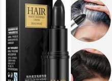 One-Time Hair dye Instant Gray Root Coverage Hair Color Modify Cream Stick Tempo