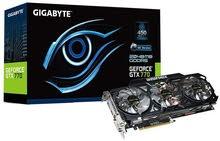 كارت شاشة Gigabyte GTX 770 GDDR5-2GB OC WINDFORCE 3X