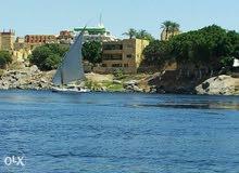 قطعة أرض 1400م للبيع على النيل مباشرة