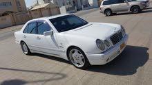 km mileage Mercedes Benz E55 AMG for sale
