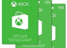 بطاقات Xbox
