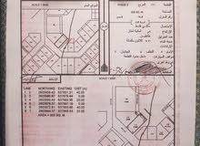 ارض سكنية للبيع فالانصب مساحة الارض 900 م