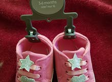 2 pcs new mother care brand baby shoes size 3-6 months