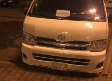 Toyota Hiace 2012 For Rent - White color