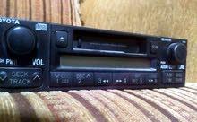 مسجل أصلي راديو كاسيت للبيع نوع تويوتا