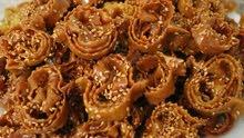 حلويات مغربية متنوعة واكلات شهية
