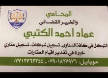 المحامي والخبير القضائي عماد احمد الكتبي