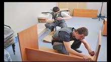 تركيب وفك وتعديل وصيانة الأثاث والمطابخ غرف نوم