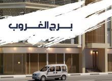 تملك غرفة وصالة ببرج الغروب علي شارع الشيخ محمد بن زايد بقسط 3400 لمدة 5 سنوات بدون فوائد بنكية .
